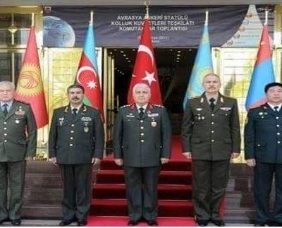 Turan ordusu resmen kuruldu Türkiye, Azerbeycan, Kırgızistan ve Moğolistan orduları birleştirdi