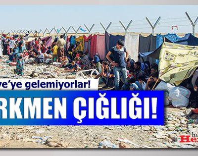 Suriyedeki PYD (PKK'lılar) Türkmenlerin Evlerini yıkıyorlar