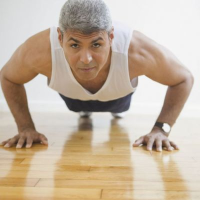 ⁣More push-ups may mean less risk of heart problems