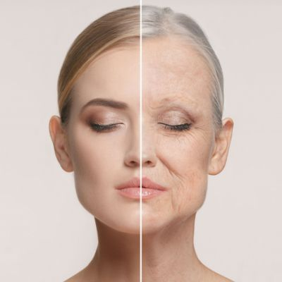 ⁣Why your face ages and what you can do