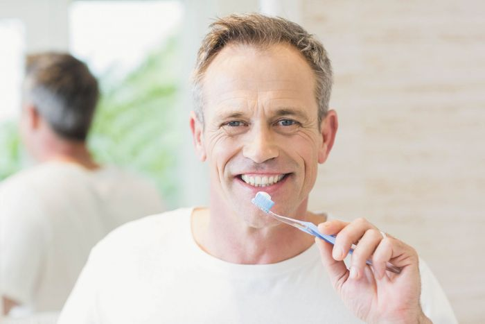⁣Good oral health may help protect against Alzheimer's