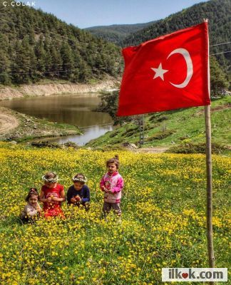 """""""Little ladies and gentlemen! You-all are, a rose, star and the light of prosperity of future."""" - Atatürk"""