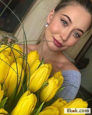 я люблю желтый тульпин
